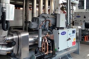 Das neue Kältesystem erreicht einen System-EER von 7 bis 8<br />
