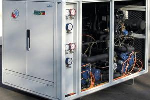 """<div class=""""bildtext"""">Für die Lagerung von Blutplasma hat L&amp;R eine Kälteanlage projektiert und gebaut, die dauerhaft Temperaturen von -80 °C erzeugt.</div>"""