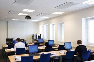 Der Sekundärluftstrom in Konferenzräumen und Großraumbüros wird mit Komfortmodulen verteilt<br /><br />