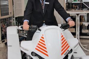 Geschäftsführer Hans-Alfred Kaut will auch mit dem neuen Vertriebspartner Panasonic Vollgas geben<br />