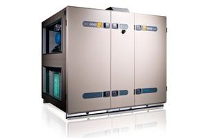 """Die Bank wird mit """"Gold""""-Lüftungsgeräten von Swegon für den primären Luftvolumenstrom ausgestattet<br />"""