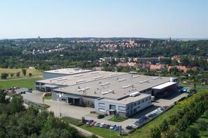 """<div class=""""bildtext"""">Luftaufnahme des Stammsitzes der Armaturenwerk Altenburg GmbH in Thüringen </div>"""