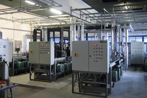 In der Kältezentrale der Südbayerischen Fleischwaren GmbH kommen natürliche Kältemittel zum Einsatz