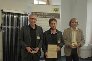 Jürgen Korff, Moritz Ritter und Dr. Rolf Meißner (v.l.n.r.)<br />