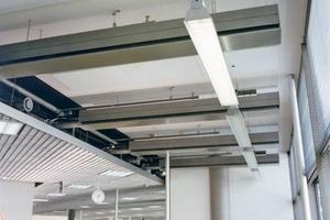 Gebäudeklimatisierung ist in Europa auf dem Vormarsch: raumlufttechnische Anlagen sorgen – wie hier in einem großen Verlagshaus – für ein gutes Klima<br />