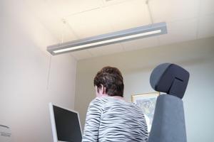 """""""Parasol"""" erzeugt keine Zugluft und arbeitet praktisch geräuschlos, was zu einem komfortablen Raumklima für das Personal der BBVA beiträgt<br />"""