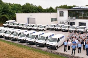 """<div class=""""bildtitel"""">Der Kältefachbetrieb Melzer setzt die Telematiklösung der PTC GPS-Services GmbH ein. </div>"""