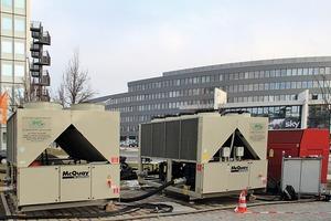 Mietkältemaschinen von acr chiller rent GmbH im Medienpark Unterföhring bei München<br />