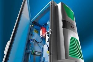 """Mit den Kühlgeräten der Serie """"Cool Efficiency"""" von Rittal lassen sich Einsparungen bei der elektrischen Energie erzielen<br />"""