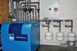 Anlage mit Sorptionskältemaschine im Blumenhaus Bade, Henstedt-Ulzburg<br />