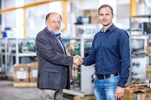 """<div class=""""bildtitel"""">Gerhard Gregor (li.) und Dirk Leuteritz (re.)</div>"""